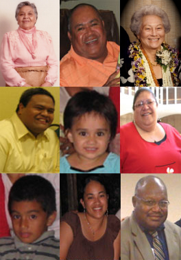Collage of Pacific Islander faces